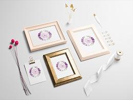 哈尔滨G&W婚礼视觉标识设计