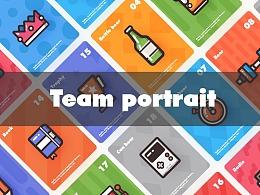 团队肖像(含教程和彩蛋)
