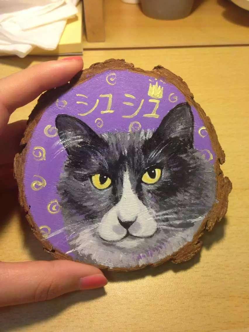 木片画 动物