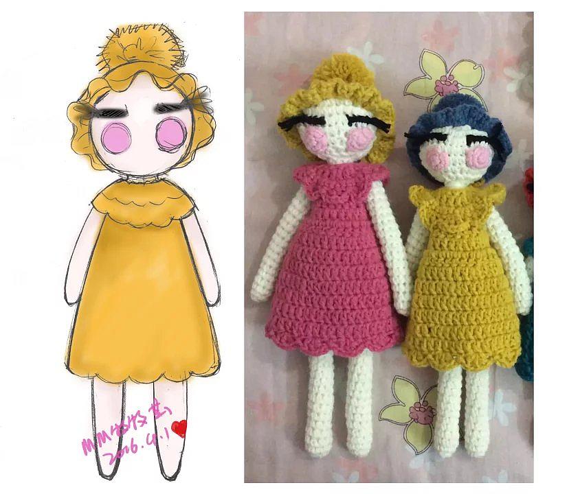 编织手工娃娃