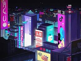 字节跳动丨未来之城丨飞旋的板砖