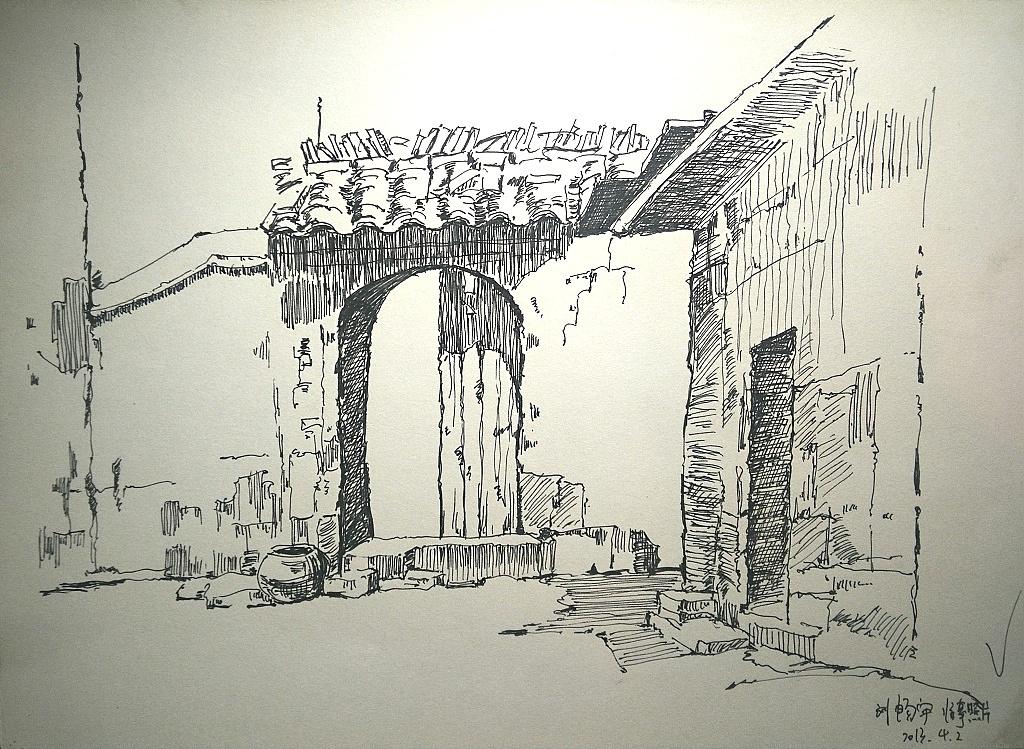 一些手绘 插画 插画习作 雨天和雨 - 原创作品 - 站酷
