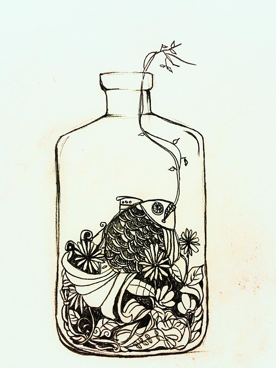 【手绘系列】—线描人物