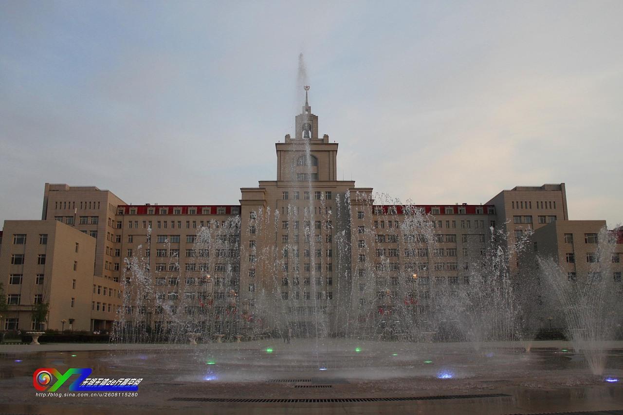 哈尔滨商业大学~如此之美图片