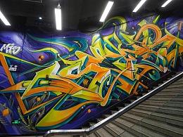 MTS涂鸦团队-在自己城市的地铁站找到自己