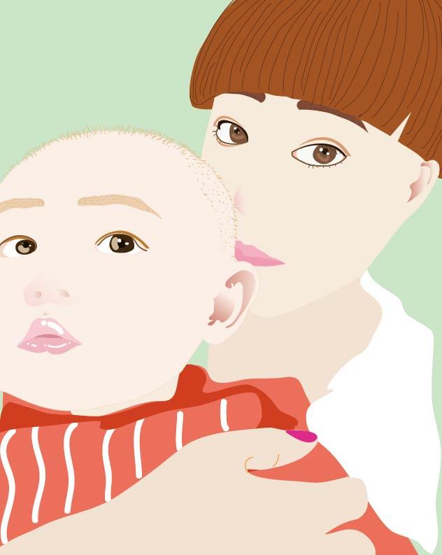 文艺小清新|绘画习作|插画|伊兹迪哈尔张晓蕊图片