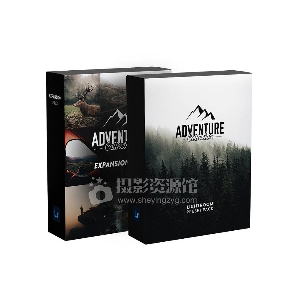 冒险与野生动物摄影师Brad Matthews 户外摄影预设+12张RAW Adventure Collective Bundle