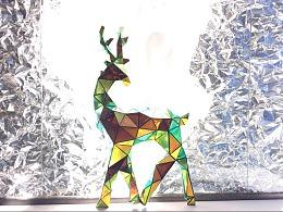 纸艺——3d纸艺习作 圣诞快乐
