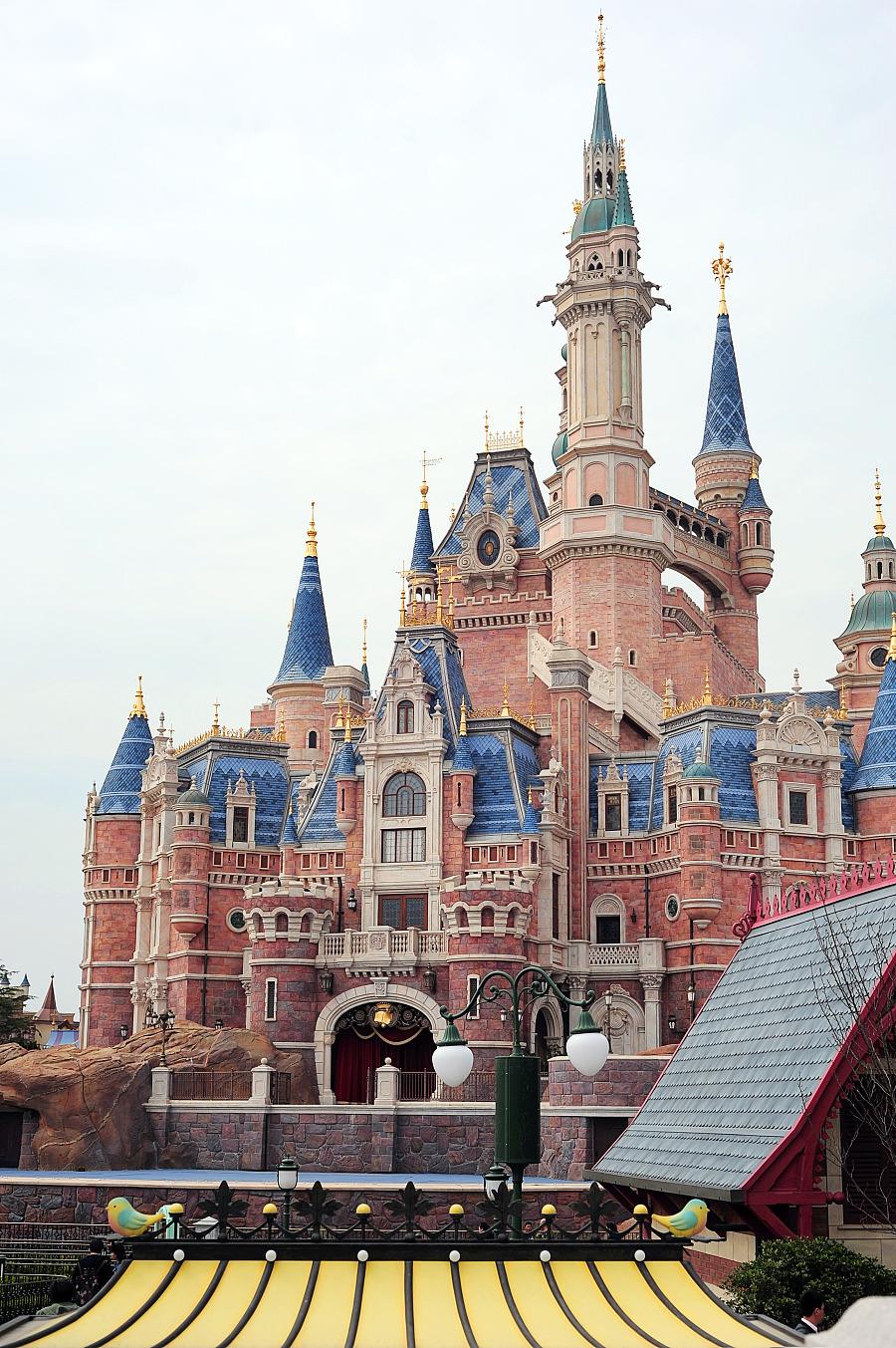 迪士尼城堡加勒比海盗船
