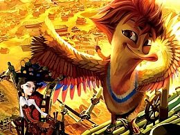 《超能太阳鸭》电影绘本设计