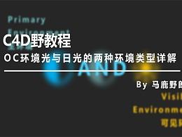 (图文+视频)C4D野教程:OC环境光与日光的两种环境类型详解