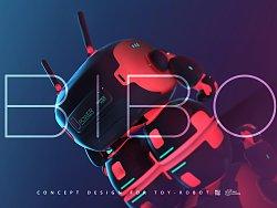 KFGZ[玩具设计]BIBO陪伴型概念机器人玩具设计