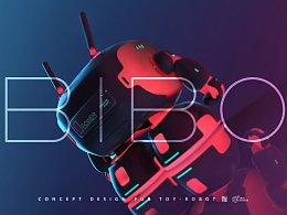 鸿运国际网上赌球_KFGZ[玩具设计]BIBO陪伴型概念机器人玩具设计