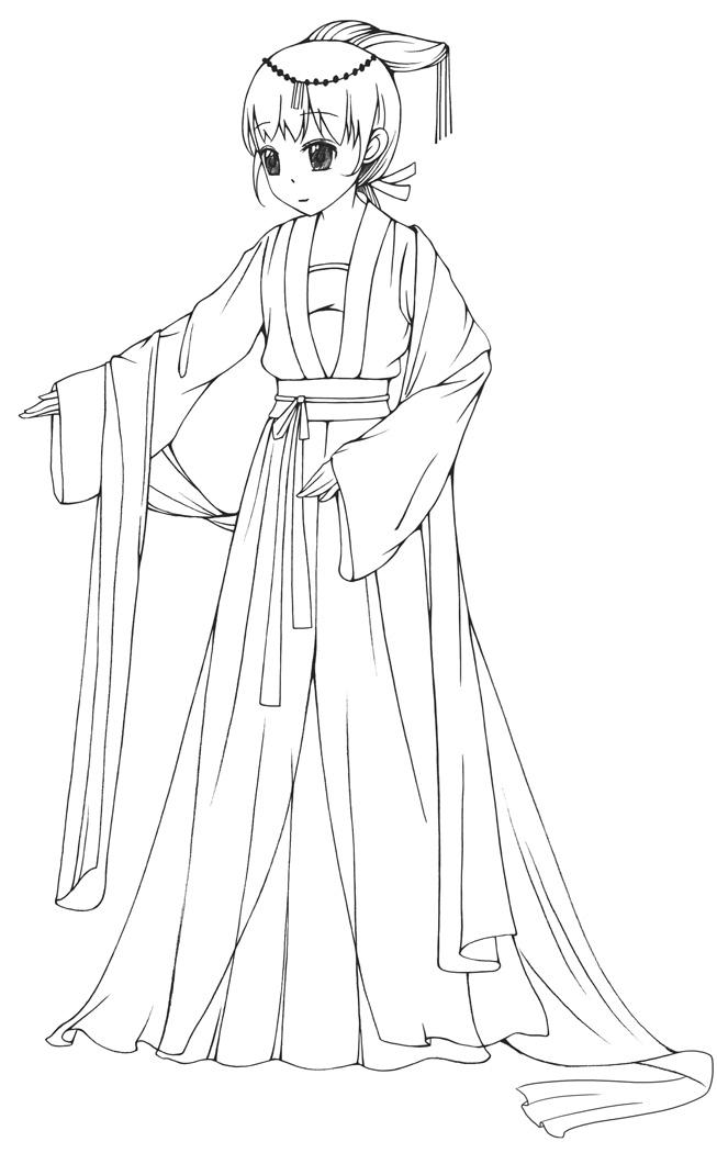 服装款式图铅笔手绘
