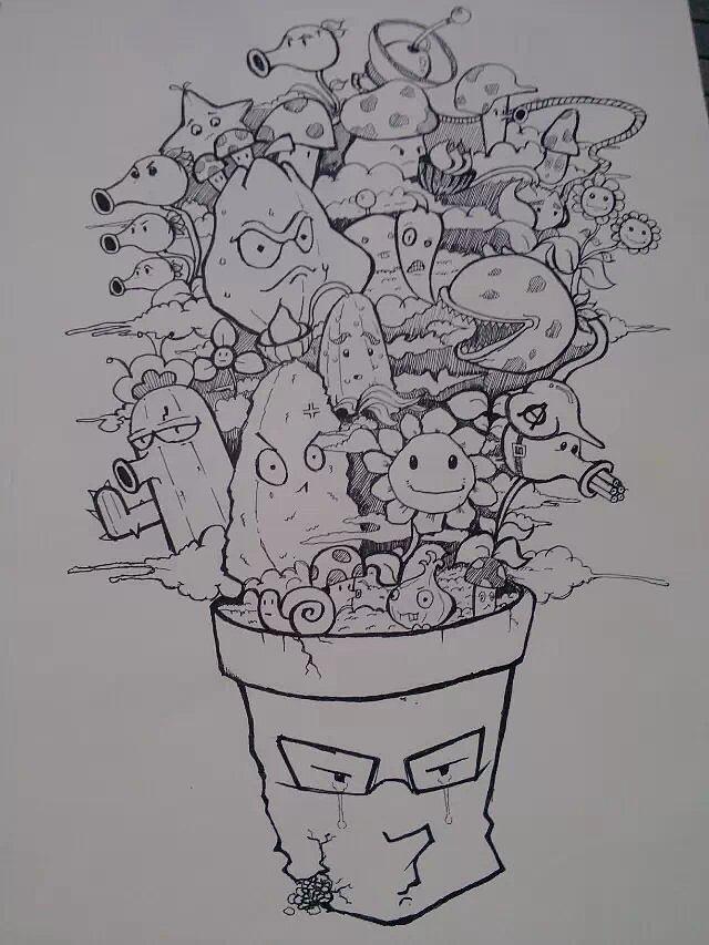 创意手绘整合|插画|其他插画|z_kim - 原创作品