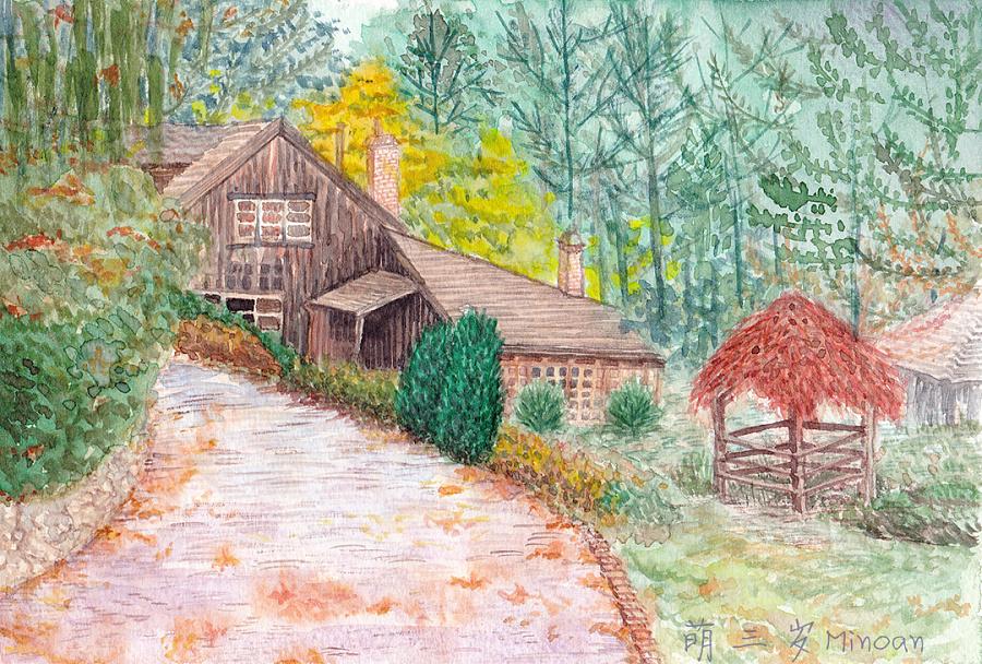 小木屋|插画习作|插画|萌三岁minoan