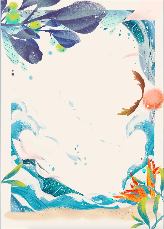 电影《秘果》单人海报绘画部分图片