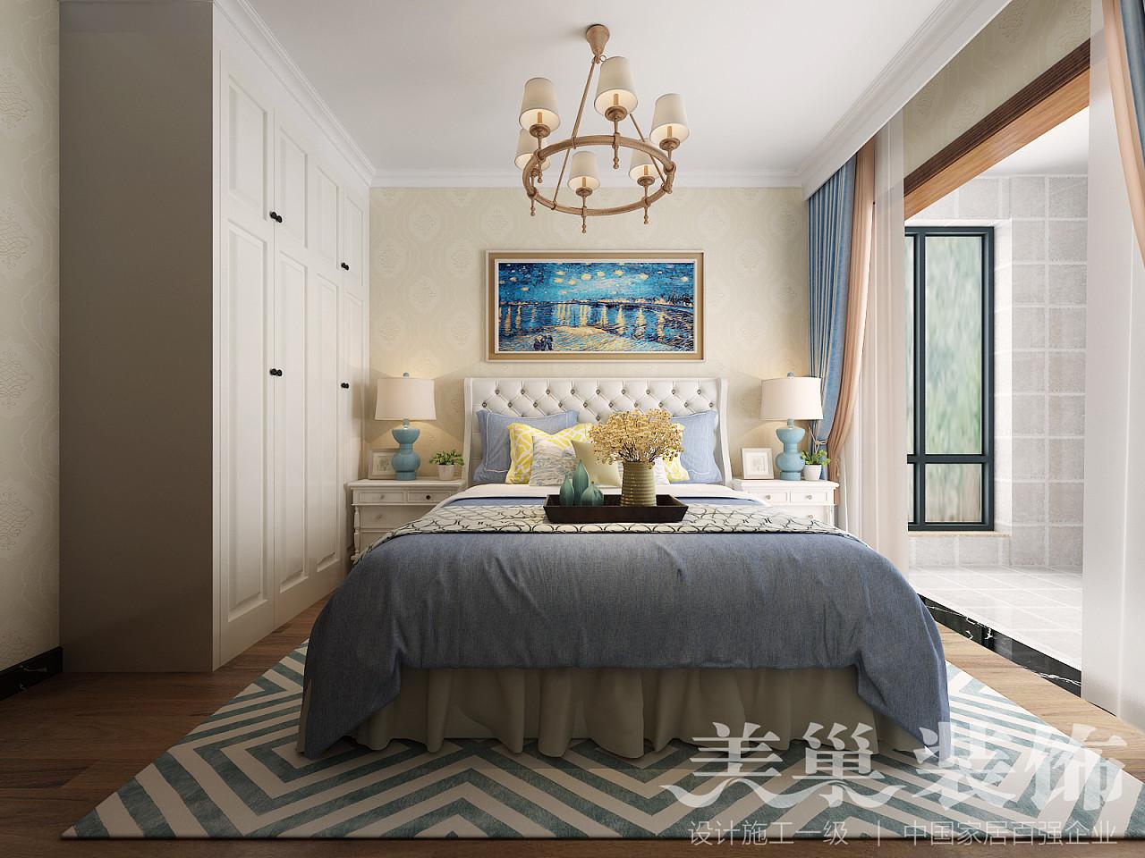 济南美巢装饰   中建新悦城现代美式风格设计图片