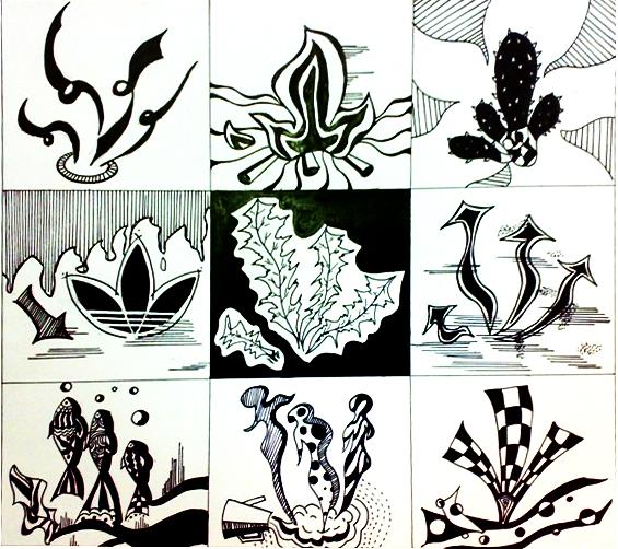 图形创意——1|其他绘画|插画|倪亚男1989图片