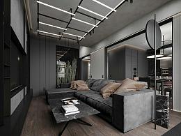 质感高级黑,让空间炫酷感十足