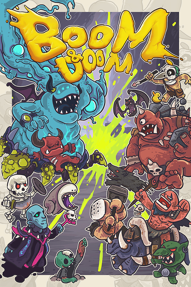 game art of boom&doom