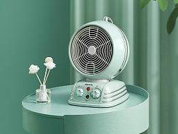 做一个外冷内热的电暖扇
