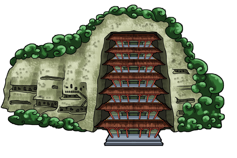 丝绸之路建筑物