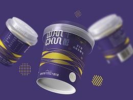 芊醇益生菌酸奶 包装设计