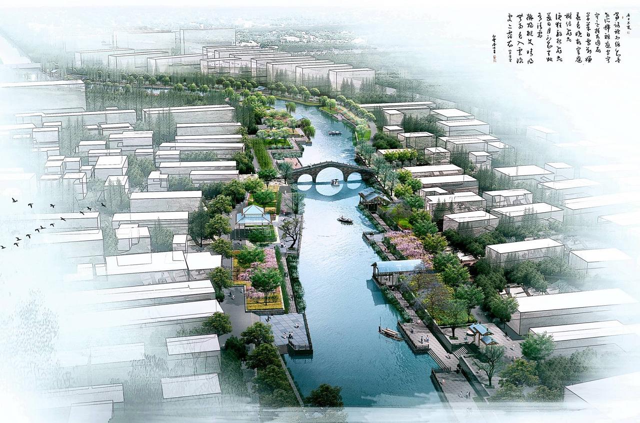 河流景观设计项目