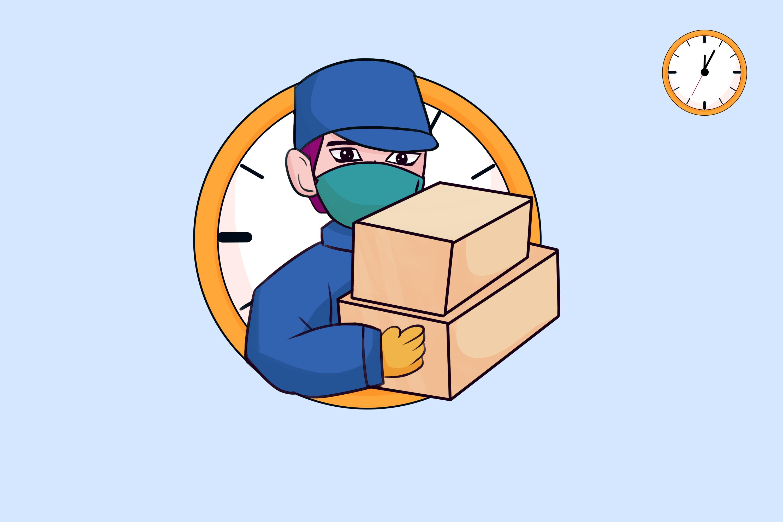 中国加油 武汉加油 抗疫插画图片
