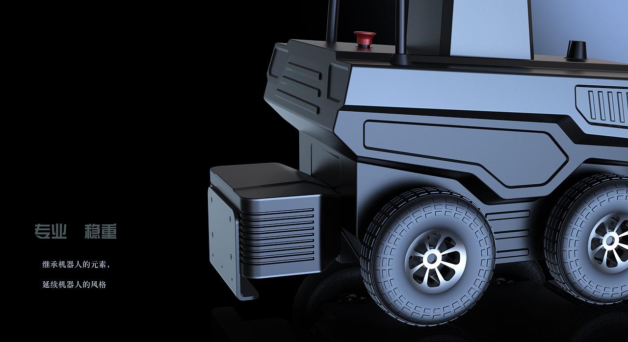 交互设计,巡检机器人外观&结构设计,北京简盟设计图片