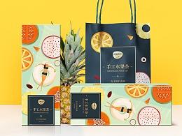 水果片茶 女性茶 茶包装 花茶礼盒
