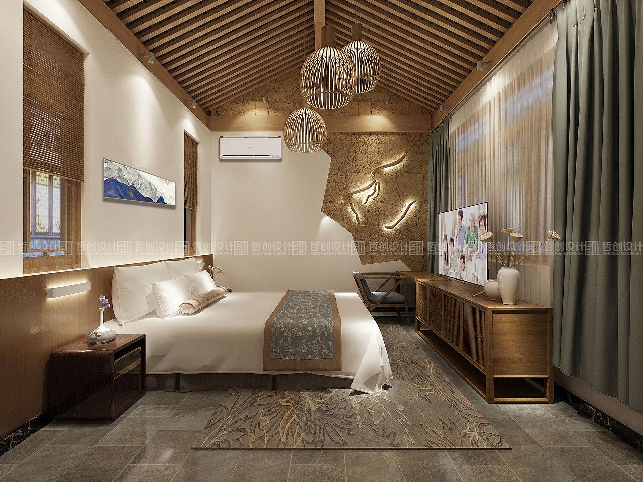 云南腾冲和顺古镇弥生客栈装修设计|空间|室内图片