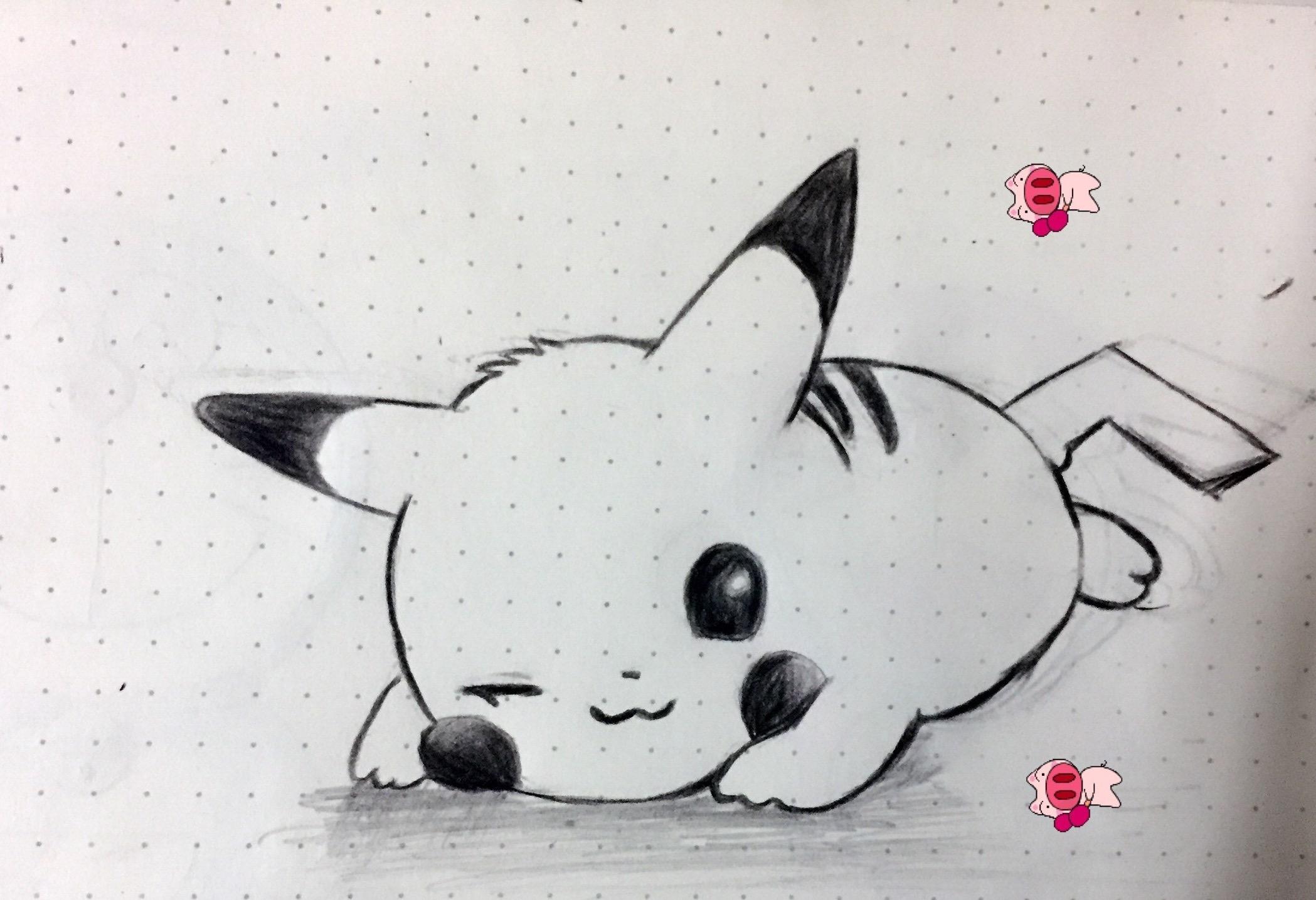 简单手绘小动物
