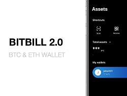 BitBill 2.0 - BTC & ETH 钱包