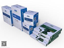 德雷特滤清器包装设计-悟杰品牌视觉设计