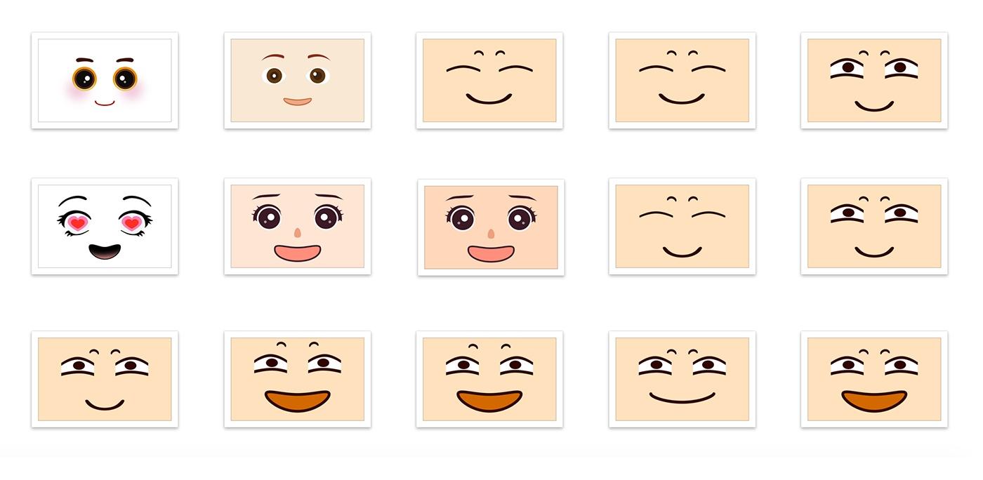 机器人表情集图片