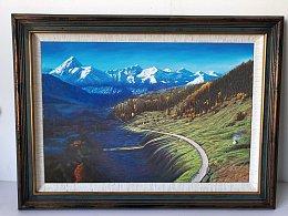我的诗与远方的油画风景作品系列