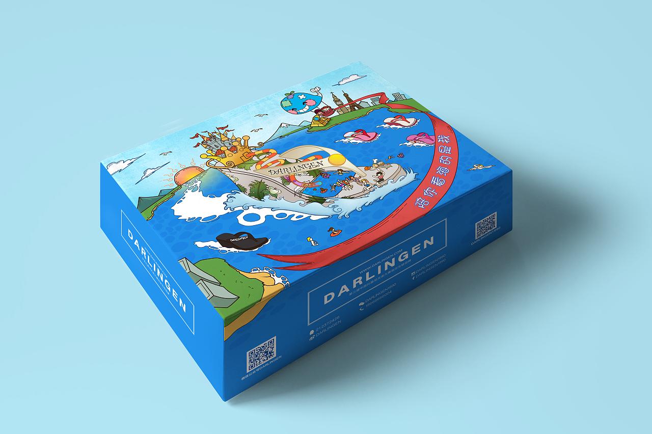 盒子包装方法图解-长方形盒子怎么包装_礼物盒包装__.图片