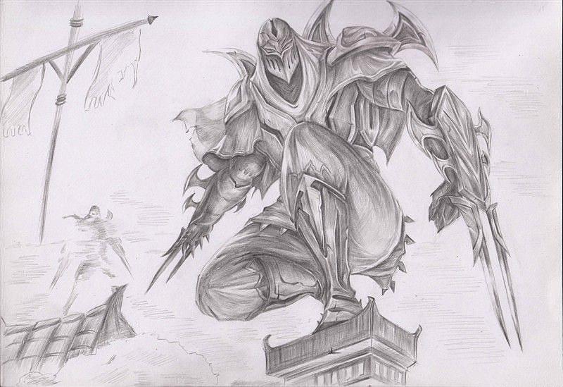 lol手绘|纯艺术|素描|蝈蝈菌 - 原创作品 - 站酷