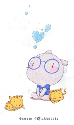 兔子字符画-漫画集 绘本 扑克 兔