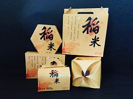 稻米 | 包装/刀版图设计