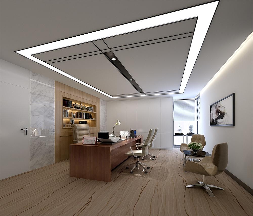 中国石化办公室装修设计效果图