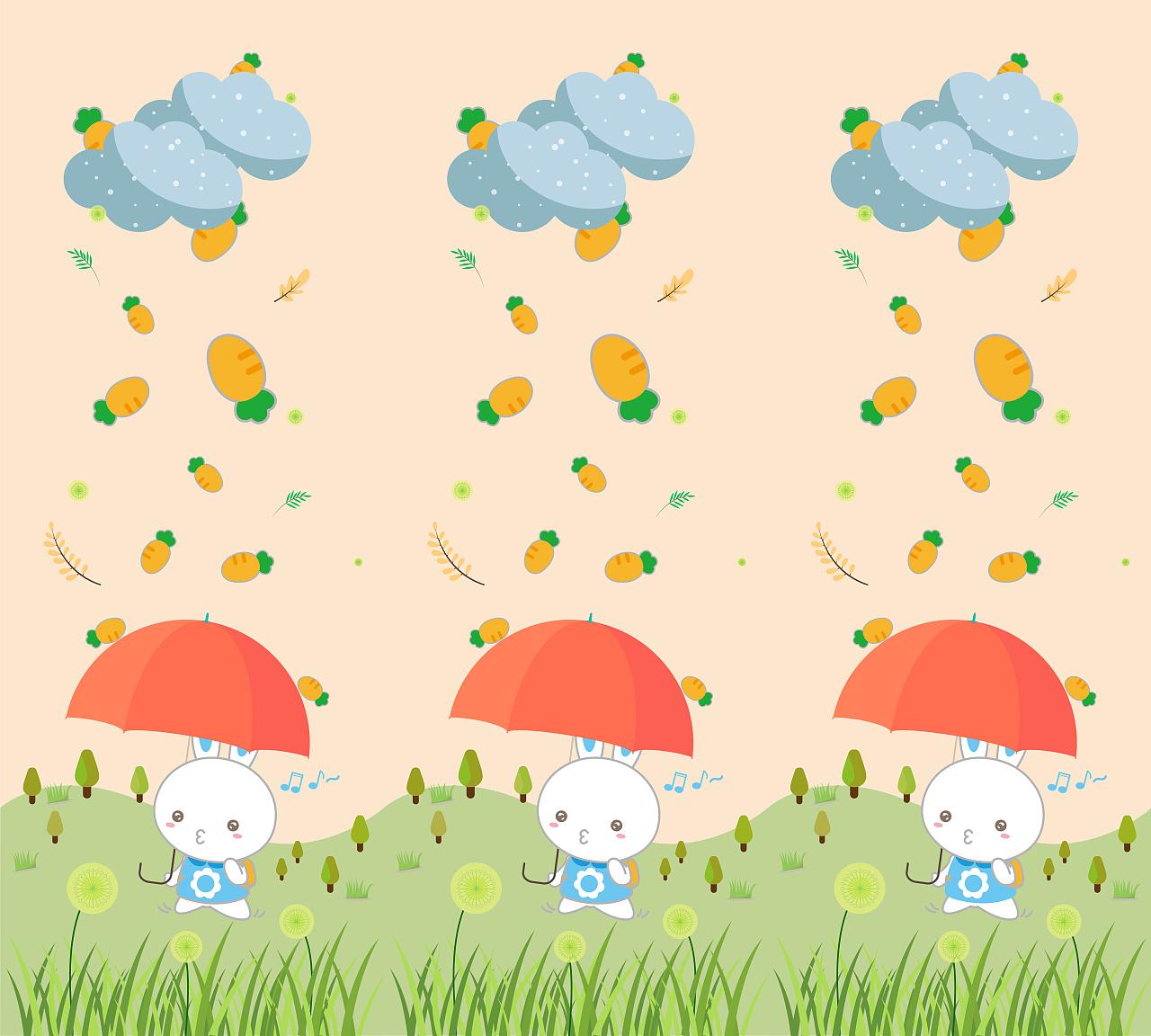 2018 火火兔 宝宝爬行垫图案设计图片