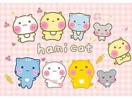 Hamicat哈咪猫可爱系列