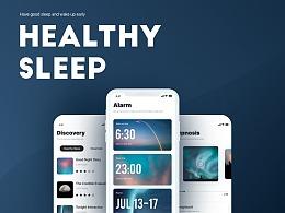 Healthy Sleep工具概念设计