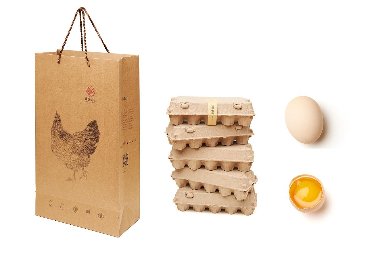 紫薇农庄鸡蛋包装设计