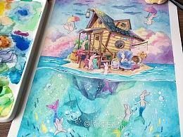 蓝梦岛-兔崽崽系列