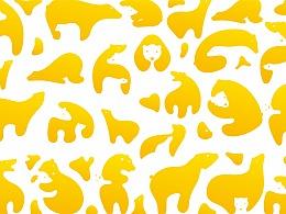 LESS新案例——哈尼熊品牌形象设计