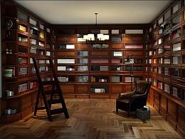 3DADD设想教育-百变书柜3D组合展示动画